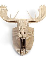 Nord Creative européenne ornements de ménage mur Structure crantée bois de renne ornements de tête
