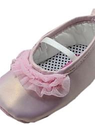 Chaussures bébé Robe Coton Ballerines Rose