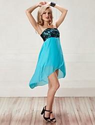 wrap poitrine heurté fleur de couleur robe de mousseline de soie jupe de les night®women de veille (plus de couleurs)