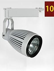 10w cob levou faixa de luz loja de roupas levou holofotes 850-900lm AC85-265V