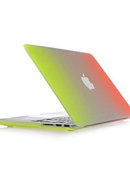 """Coosbo® colorful Rainbow Matte Hard Cover Case Sleeve For 13"""" 15"""" Macbook Pro with Retina"""