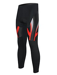 XINTOWN Unisex The High Quality Terylene Quick Dry Cycling Pants—Black+Red