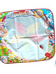 70 * 70 * patrón de girasol pintura agua mágica cartulina 1.5cm para niños con 2 bolígrafos juguetes de la novedad del medio ambiente