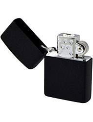 Icue®EZIP04 Black Windproof  Stainless Steel Electronic Lighter