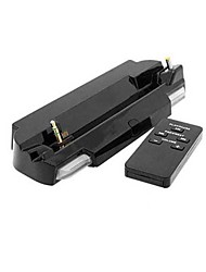 Moive Audio Docking Charger Stand + Remote for Sony PSP 2000 3000