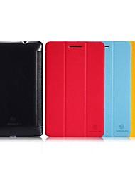 Nillkin Ultra Slim Folio Leather Case Auto Sleep/Wake for Lenovo IdeaTab S5000 7-inch(Assorted Colors)