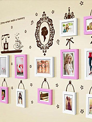 Photo Frame Set of 13 with Wall Sticker 34