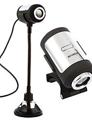 aos buscadores de alta definição de visão noturna microfone UVC Webcam 12 megapixels