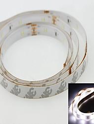 Soft Light 100 centímetros 3014smd 36LED legal 7500-9000k 2.5W branco tensão 120-180lm 12v luz de tira IP65 impermeável branco fresco