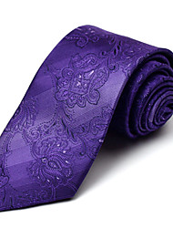 Purple Silk Tie
