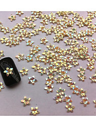 20pcs flores de resina Decorações Nail Art