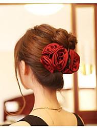 Elegant Three Roses Hair Claws Hair Accessories Random Color