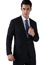 hombres nuevos de la llegada de la boda delgado trajes estilo delgadas ocasionales de negocio de la boda vestido (chaqueta + pantalones)