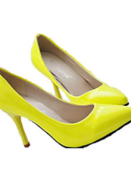 Sunfarey Women's Casual Candy Color Elegant Kitten Heel Shoes
