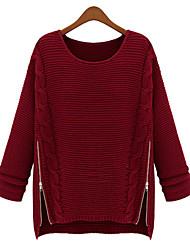 MiLi Loose Round Collar Knitwear Sweater _34