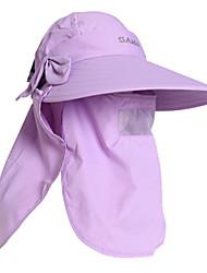 nylon das mulheres pgm + luz malha respirável à prova de sol roxo anti-uv chapéu de sol de golfe
