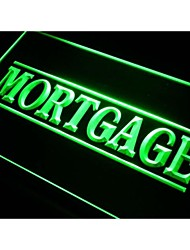 i375 Mortgage Services Neon Light Sign