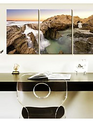 Personalized Canvas Print  Stretched Canvas Art  Seaside Rock  35x50cm  40x60cm  50x70cm  Gallery Wrapped Artof 3