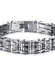 Z&x® мужская мода личности щедрым титана стальной браслет