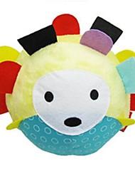 chocalho forma hedgehog bebê bola brinquedos de algodão macio
