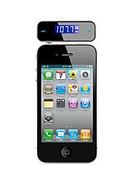 Transmisor Multifuncional de Coche con Manos Libres FM para iPhone, Samsung, Teléfono Móvil