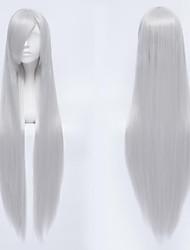 k / kushina anna / mármore lasca branco peruca cosplay branca