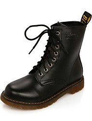 Lobo Women's Fashion Leather Martin Boots
