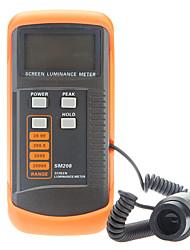 sm208 mètres luminance d'écran portable écran posemètre de luminosité (0.01-39990cd / m2)