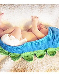 Cute Funny Baby Infants Handmade Knit Crochet Dinosaur Design Warm Hat Cap 3-12M