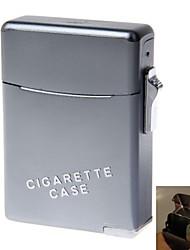 liga de zinco de gás butano chama laranja com caixa de cigarro