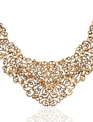 Tengfei Western Style Cut Out Fashion Collar Necklace