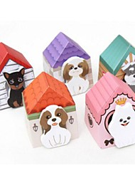 Paper Doghouse Design Self-Stick Note(Random Color)
