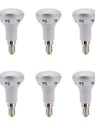 6 шт. YOKON E14 4 W 6 SMD 300 LM Тёплый белый R Точечный свет AC 220-240 V