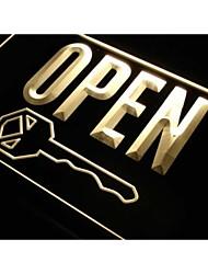 j811 negozio taglio aperto tasti negozio nuova luce al neon segno