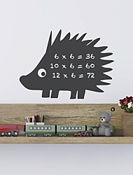 JiuBai™ Hedgehog Pattern Blackboard Wall Sticker Wall Decal