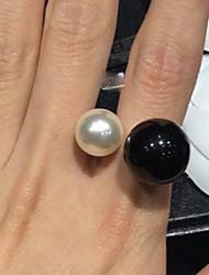 anello perla di miki regolabile