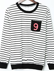 coton occasionnel o-cou pull femmes hoodies