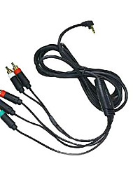 AV HDTV TV Audio Video Component Cable Cord for Sony PSP 2000/3000 Game Console