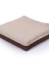 thouse® planície cetim bambu lavagem fibra toalha (100% malha de fibra de bambu, 35 * 80cm)