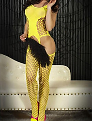 Women's Bold Cutout Pothole Body Stocking
