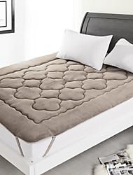 novidade colchão-pad com padrão coral, um pcs, tecido 50% algodão 50% polyster preenchendo 100% polyster
