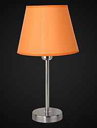 Dainty Crystal Table Lamp With Fabric Lampshade