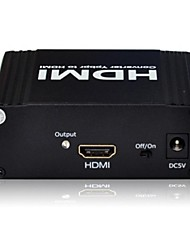 YPbPr/YCbCr/YUV + SPDIF Optical+Coal Input to 1080p HDMI Output Converter Box Adapter Dolby-TrueHD7.1 DTS Dolby-AC3 DSD