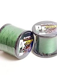 potência de 100% de fibra de pe dyneema 1000m £ 50 musgo verde 0,32 milímetros linha de pesca trançada Topwin