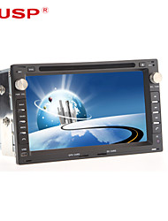 "cusp® 7 ""TFT 2 DIN Auto-DVD-Player für 2001-2011 VW Passat mit Bluetooth, GPS, iPod, RDS, atv"