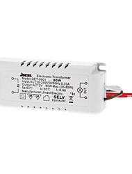 50/60 Hz de 0.33A de 6pcs ac ac 12v 35-80w conduit transformateur de tension électronique convertisseur