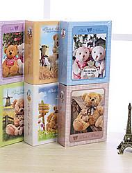 1105 TEDDY BEAR Carton Cute  Children Album(Blue,Purple,Pink,White,Yellow,Green)