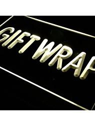 regalo j272 visualizzazione avvolgere negozio di fornitura luce al neon segno