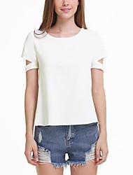 Standard - Dünn - Sexy/Leger - T-Shirt (Polyester)
