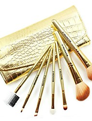 7 Makeup Brushes Set Synthetic Hair Face / Lip / Eye Others